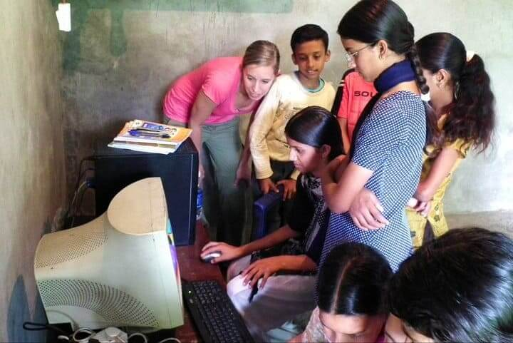 Teach Computers in India