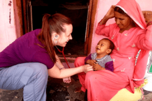 Health Volunteering Work in India